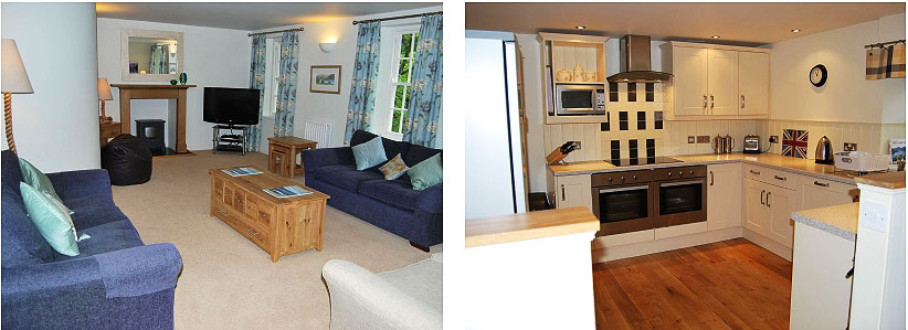 huntingstile lodge grasmere lounge and kitchen