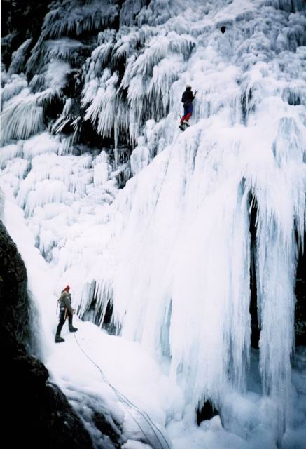 Ice Climbing Lake District
