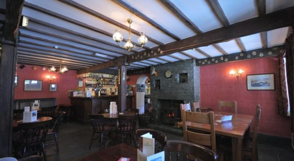three shires inn bar discover the lakes